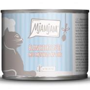 MjAMjAM Dose blanchierte Pute + Muscheln an Soße 185g