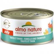 Almo Nature Forelle und Thunfisch 70g