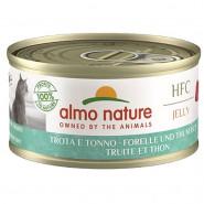 Almo Nature HFC Jelly Forelle und Thunfisch 70g