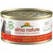 Almo Nature HFC Natural Huhn und Garnelen 70g