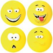 Smiley Latex flach 10 cm  1 Stück