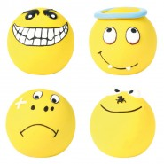 Smiley, Latex, rund, Super Heavy, 6 cm