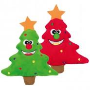 Xmas Hundespielzeuge Weihnachtsbäume, Plüsch, 22cm