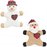 Xmas Weihnachts- und Schneemänner, Plüsch, 29cm