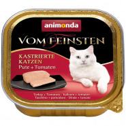 Ani. Cat v. Fein. Kastr. Katzen Pute & Tomate 100g