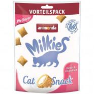 Animonda Cat-Snack Milkies Knusperkissen Wellness 120g