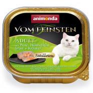 Animonda Cat v. Fein. Schlemmerkern Pute + Hühnerbrust 100g