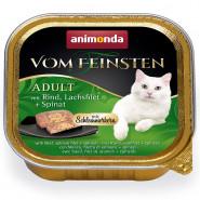 Animonda Cat v. Fein. Schlemmerkern Rind + Lachsfilet 100g