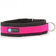 Anny-x Steckhalsband Fun, schwarz/pink