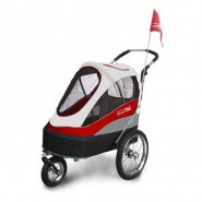 InnoPet Buggy Sporty Trailer rot/grau