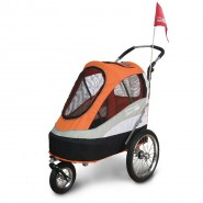 InnoPet Buggy Sporty Trailer schwarz/orange
