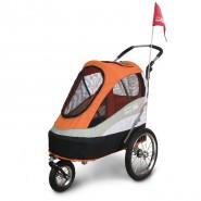 InnoPet Buggy Sporty Trailer schwarz/orange