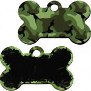 Knochen Groß Camouflage Grün