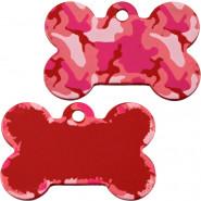 Knochen Groß Camouflage Pink
