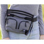 Snack-Tasche Duo Treat, 23x19 cm, grau/schwarz