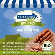 Cold & Dog Bio Bites Rinder-Wienerli 10 Stück/200g