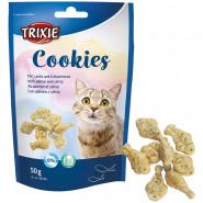 Cookies mit Lachs und Katzenminze, 50g