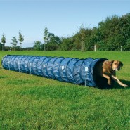 Dog Activity Agility Basic Tunnel, 60 cm/5 m, blau