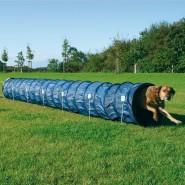 Dog Activity Agility Basic Tunnel, 60 cm/5 m, blau