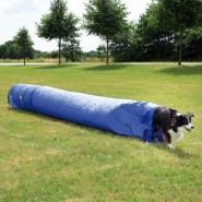 Dog Activity Agility Sacktunnel, 60 cm/5 m, blau