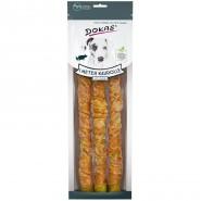 Dokas Dog Snack 1m Kaurolle mit Hühnchen, 3x34cm, 315g