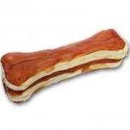Dokas Dog Snack Kauknochen mit Huhn, 15cm, 1 Stück