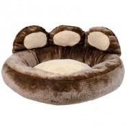 Donatello Bett 60x50 cm, braun/beige