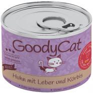 GoodyCat Dose Huhn mit Leber und Kürbis 180g