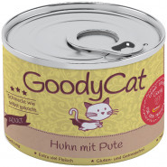 GoodyCat Dose Huhn mit Pute 180g