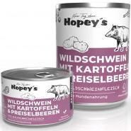 Hopey's Wildschwein mit Kartoffeln und Preiselbeeren