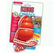 Kong Aqua mit Wurftau Medium 8 cm