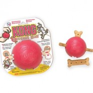Kong Biscuit Ball 10cm rot medium-large