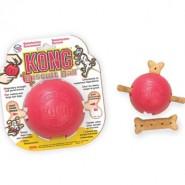 Kong Biscuit Ball 10cm rot medium-large