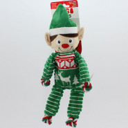 Kong Holiday Weihnachten Floppy Knots Elf M ca. 30 cm