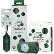 PoopyGo umweltfreundliche Kotbeutel, lavendel
