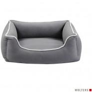 Wolters Eco-Well Hunde Lounge, grau/hellgrau