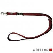 Wolters Führleine Professional Comfort, rot/schwarz