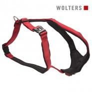 Wolters Geschirr Professional Comfort, rot/schwarz
