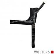 Wolters Geschirr Soft & Safe, reflektierend, schwarz/schwarz