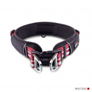 Wolters Halsband Active Pro, rot/silber
