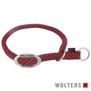 Wolters Schlupfhalsband Everest, reflektierend, rot/schwarz