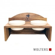 Wolters Sir Henry Doppelnapf, teak