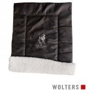 Wolters Sir Henry Mopsdecke, 100 x 70cm, antik-braun