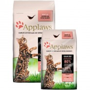 Applaws Cat Trockenfutter Adult Hühnchen & Lachs