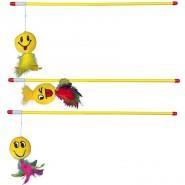 Spielangel mit Smiley, 50cm