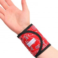 Aqua Coolkeeper Cooling Wristband Red Western