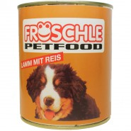 Fröschle Lamm & Reis 800g