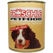 Fröschle Pute & Reis 800g