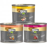 Grau Excellence Nassfutter Sparpaket 200g