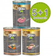 Grau Excellence Nassfutter Sparpaket 400g